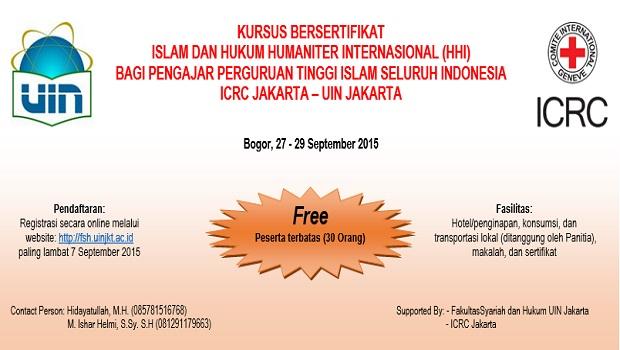 TOR Kursus Besertifikat silahkan download Untuk pendaftaran online, silahkan klik disini.