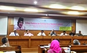 Diskusi Refleksi Pemikiran dan Kontribusi Pemikiran Alm. Prof Dr Harun Nasution di Indonesia, Jum'at (21/08/2015).