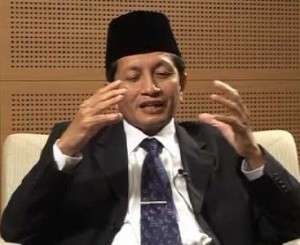 Religious Affairs Minister Nasaruddin Umar