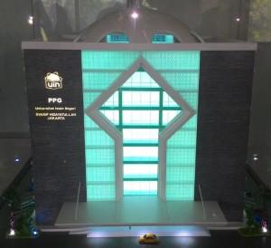 UIN Jakarta memulai pembangunan LPTK UIN Jakarta, Jum'at (07/08/2015). Gedung dan fasilitas membutuhkan investasi senilai Rp 217 miliar.
