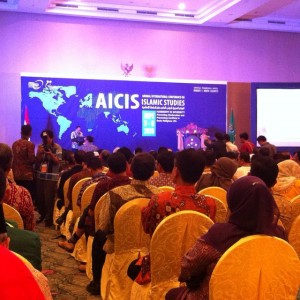 Suasana Acara AICIS Ke-15 di Manado, Sulawesi Utara.