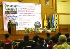 Seminar Nasional  Jurusan Komunikasi dan Penyiaran Islam (KPI) Fakultas Ilmu Dakwah dan Ilmu Komunikasi (FIDIKOM)