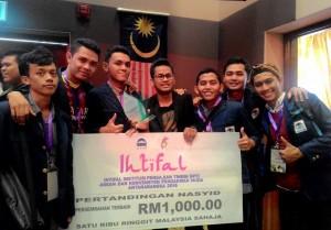 Tim Nasyid UIN Jakarta Juarai Lomba Tingkat Nasional