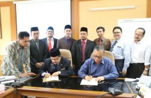 UIN Jakarta-Kolej Universiti Islam Malaka Malaysia Tandatangani MoU