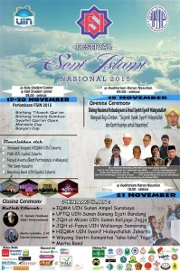 UIN Jakarta Gelar Festival Seni Islami Nasional 2015