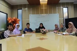 21 Mahasiswa Antusias Mengikuti Pelatihan Bahasa di PPB UIN Jakarta