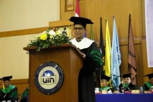UIN Jakarta Kukuhkan Profesor Ilmu Kesehatan Lingkungan