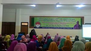 DWP UIN Jakarta Gelar Muhasabah dan Seminar Implementasi Asmaul Husna