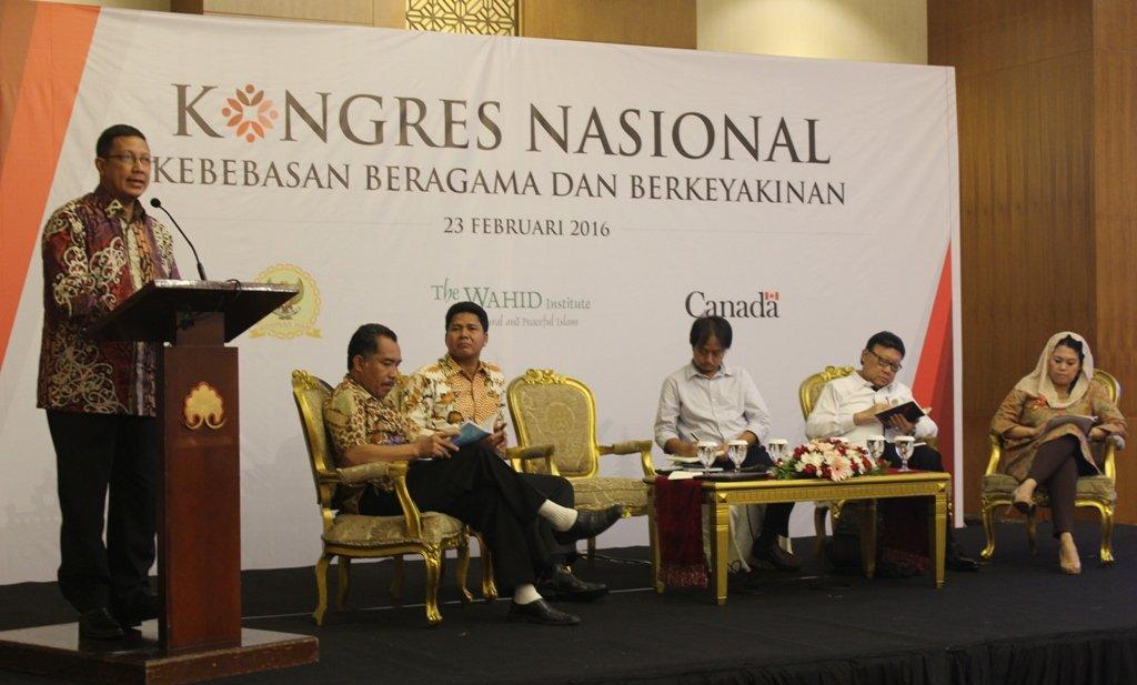 Kongres Nasional, Kebebasan Beragama dan Berkeyakinan, 23 Februari 2016