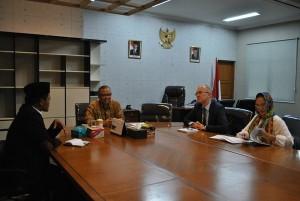 UIN Jakarta dan Kedubes Perancis Kembali Bicarakan Kerjasama