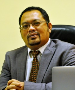 Dekan Fakultas Ekonomi dan Bisnis UIN Jakarta Dr. Arief Mufraini, Lc., MA.