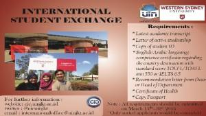 UIN Jakarta Kembali Jaring Peserta Student Exchange