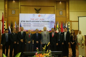 Rektor Sambut Tim Penilai AUN-QA di UIN Jakarta