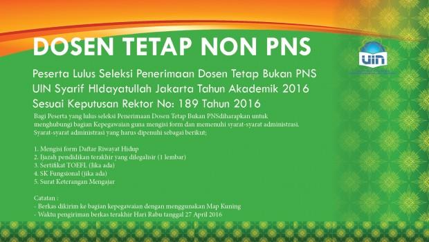 www.uinjkt.ac.id/wp-content/uploads/2016/04/PENERIMAAN-DOSEN-TETAP-NON-PNS.pdf http://www.uinjkt.ac.id/wp-content/uploads/2016/04/Peserta-Lulus-Seleksi-Penerimaan-Dosen-Tetap-Bukan-PNS.doc
