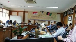 Dekan FSH UIN Jakarta Terima Kunjungan Delegasi Afghanistan