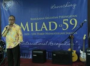 Rektor Membuka Rangkaian Milad UIN Jakarta Ke-59