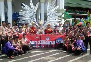 Ethno Carnival UIN Jakarta Raih Penghargaan Terbaik Pertama