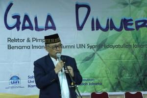 Rektor Ajak Mahasiswa dan Alumni Bawa UIN Go Internasional