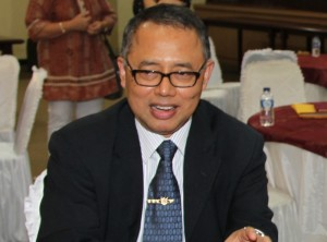 Rektor UIN Syarif Hidayatullah Jakarta. Prof. Dr. Dede Rosyada, MA.