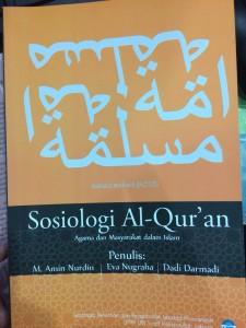 Sosiologi Al-Quran: Agama dan Masyarakat dalam Islam. M. Amin Nurdin dkk.