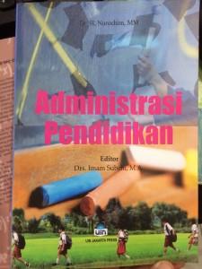 Seri Buku Ajar, Administrasi Pendidikan