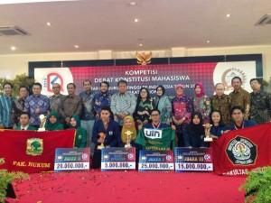 Tim Debat FSH Kembali Harumkan UIN Jakarta di Kancah Nasional