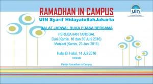 UIN Jakarta Akan Gelar Bukber dan Halal bi Halal