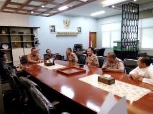 Kapolsek Baru Ciputat Sambangi Rektor UIN Jakarta
