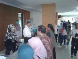 Pegawai UIN Jakarta Kembali Beraktivitas