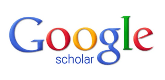Image result for gambar google scholar