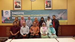 UIN Jakarta Prepares The New Strategic Plan
