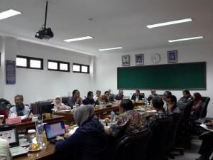 Rapat Pimpinan (Rapim) UIN Jakarta, Ruang Rapat Fakultas Psikologi, Lantai II, Rabu (31/08).