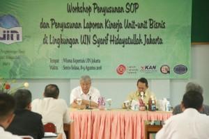 Unit Bisnis UIN Jakarta Penting Miliki SOP
