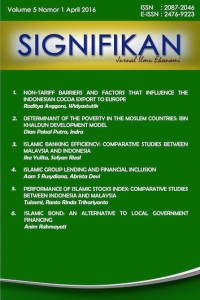 Jurnal Signifikan FEB UIN Jakarta