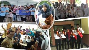 Keceriaan Mahasiswa Baru Asing saat mengikuti PBAK