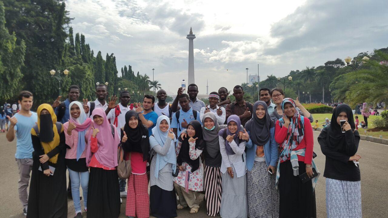 Mahasiswa Asing, Buktikan Kontribusi UIN Jakarta