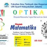 OPTIKA XVI Olimpiade Matematika Tingkat Madrasah dan Sekolah Islam Se Indonesia