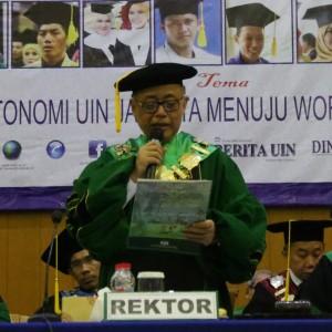 Pidato Rektor Wisuda Ke 101