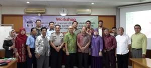Pusat Layanan Humas dan Bantuan Hukum (PLHBH) LP2M UIN Jakarta menggelar workshop dengan tema, Penanganan Agraria di Lingkungan UIN Syarif Hidayatullah Jakarta. Workshop dijadwalkan berlangsung selama dua hari tersebut dilaksanakan di Pusdiklat Kemenag RI, Rabu-Kamis (24-25/08).