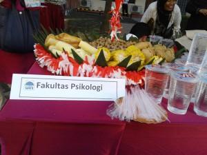 Bazar Makanan Tradisional digelar seusai Upaca HUT RI ke-71 (17/08).
