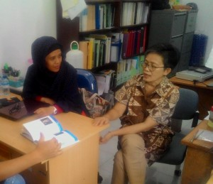 UIN Jakarta jalin kerjasama penelitian mengenai Hermit Crabs (kelomang/ umang-umang) dengan peneliti yang berasal dari  Seto Marine Biological Laboratory, Kyoto University, Jepang. Jumat (12/08)
