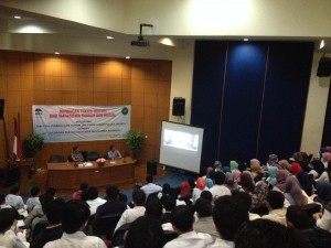 FSH UIN Jakarta Genjot Mahasiswa Tingkat Akhir Ikuti Bimtek Terkait SKPI