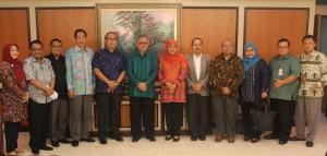 Kemensos RI–UIN Jakarta Jajaki Kerjasama