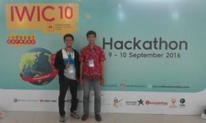 Mahasiswa Teknik Informatika (TI) Fakultas Sain dan Teknologi (FST) UIN Jakarta berhasil memenangkan Hackathon Indosat Ooredo Wireless Innovation Competition (IIWC). Pasalnya, mereka berhasil membuat aplikasi yang mempermudah ibadah haji dan umrah. Sabtu, (10/9).