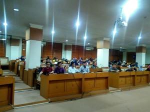 Bagian Kemahasiswaan UIN Jakarta adakan Psikotes bagi pendaftar Beasiswa Bidikmisi, Senin (05/09).