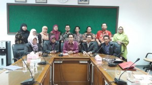 The Faculty of Islamic Economics and Busines (FEBI) and Faculty of Social and Political Sciences (FISIP) from Sunan Ampel State Islamic University (UINSA) Surabaya conducting a comparative study visit to the Faculty of Psychology UIN Jakarta, Tuesday (9/20)
