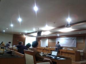 LP2M Gelar Workshop Bersama Kevin Fogg
