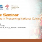 Culture Seminar Strategi in Preserving National Cultures PMS UIN Jakarta