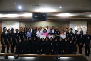 PSM  Serahkan Bronze Prize Kepada Rektor UIN Jakarta