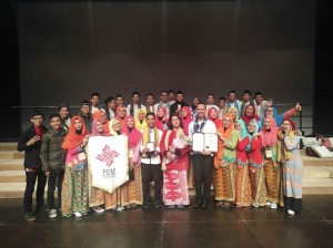 PSM UIN Jakarta Gets Bronze Prize Winner in Busan Choir Festival South Korea